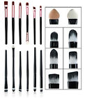 6pcs Eye Makeup Eyebrow/Eyeshadow/Eyeliner/Blending/Sponge/Crease/Flat Brush Set