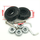 Rollerblade Inline Fitness Hockey Skate Replacement Wheels + ABEC 608zz Bearings