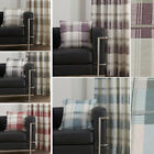 Highland Tartan Scatter Cushion Cover With Plaid Check Pattern – For Chair Sofa