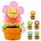 JAPAN TAKARA TOMY SOLAR ENERGY POTTED PLANT FLOWER SWING HEAD NOHOHON - PEACEFUL