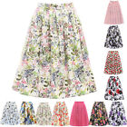 SUMMER Vintage Retro Skirts 50's 60's Swing Housewife Pin Up Dress