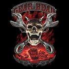 Mechanic Hoodie Gear Head Till Death Fix Cars Ride Auto Skull Highway Outlaw Car