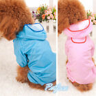 Cute Waterproof Coat Jacket Fashion Pet Dog RainCoat Clothes Dogs Puppy Casual