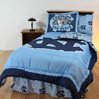 North Carolina Tar Heels Comforter Sham Bedskirt Pillowcase Twin to King CC