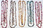 """HAND CRAFTED SHELL EYEGLASS NECKLACE 38"""" CHOICE OF 5 COLORS PLUS SIZE 2 CUSTOM"""