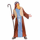 Adults Mens Joseph Nativity Play Shepherd Fancy Dress Christmas Party Costume
