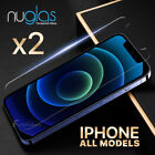 2x GENUINE NUGLAS Tempered Glass Screen Protector For Apple iPhone 7 6 6s Plus