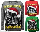 Unisex Men Womens XMAS Star War Theme- I'm YOUR FATHER Christmas Jumper Sweater