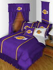 Los Angeles Lakers Comforter Sham Bedskirt Curtains Valance Twin to King Size