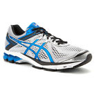 ASICS Mens GT-1000 4 Wide 2E Silver/Electric Blue/Black Running Shoes T5A3N.9339