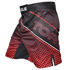 Torque Red Grid Fight Shorts (Black/Red)