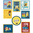 Despicable Me Minion Madness Patches Woven Iron / Sew On Motif Applique