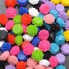 Wholesale 20pcs  Resin Flower flatback Scrapbooking for Wedding Crafts Beads