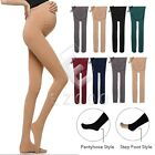 Women Lady Maternity Stretch Thick Comfort Adjustable Trousers Leggings Pants