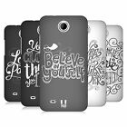 HEAD CASE DESIGNS HAND DRAWN TYPOGRAPHY HARD BACK CASE FOR HTC PHONES 3