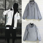 Men's Women 3M Reflective Hooded Jacket Travel Nocturnal Thin Coat Windbreaker