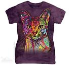New The Mountain Abyssinian Cat Womens T Shirt