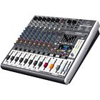 Behringer Xenyx X1222 USB 16 Input Mixer With USB Audio Interface