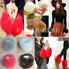 Women Winter Warm Faux Fur Oversleeve Wristband Cuff Muff Bracelet Gloves Sleeve