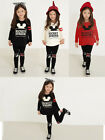 Cotton kids baby Girls top+ pants Outfit Cute Mickey Long sleeve Spring Clothing