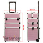 TROLLEY BEAUTY CASE MAKE UP NAIL ART VALIGIA COFANETTO PORTA TRUCCO VALIGETTA