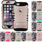 ROSE GOLD Shock Proof Impact Rubber Soft Hard Armor Cover Case for Cell Phones