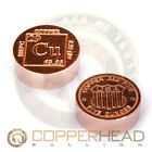 1 x 5oz Pure Copper Round Element Design Coin Bar Bullion 10-20-100