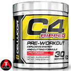 Cellucor C4 Ripped Pre Workout Fat Burner Explosive Energy 180g