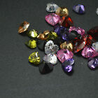 HEART SHAPED CUT Loose CUBIC ZIRCONIA STONES AAA Quality 10pcs A Lot GEMS STONE