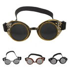 Chic Unisex Gothic Vintage Victorian Steampunk Goggles Glasses 4 Colors