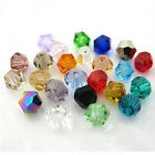 Hot Sale 200pcs 4-6-8mm Bicone Beads crystal 5301# for Jewelry making