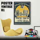 POSTER VINTAGE MOTORCYCLE FRANCE GRAND PRIX CARTA FOTOGRAFICA 35x50 50x70 70x100