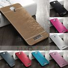 Luxury Brushed Aluminum Metal Thin Hard Cover Case For Xiaomi Redmi Note2/Mi 4ic