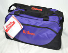 "Wilson Avanti 19"" Duffel Multi Purpose Sports Gym Bag Choose Black or Purple"