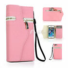 Fashion Flip Leather Wallet Case Cover for Apple iPhone 6s/ 6 & iPhone SE 5s/ 5