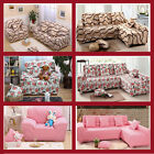 1 2 3 Seater Stretch Elastic Sofa Couch Slip Covers For L-shaped /Sectional Sofa