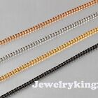 """2MM Gorgeous Necklace Elegant Stainless Steel Box Chain Various lengths 20""""-40"""""""