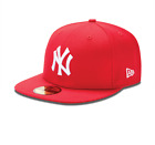 New Era 59FIFTY NY NEW YORK YANKEES - Red White Cap MLB Baseball Fitted Hat
