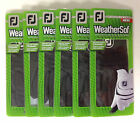 6 New Footjoy Black WeatherSof Golf Gloves LH, Multiple Sizes, For Righties