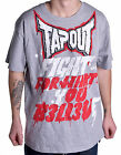 Tapout Men's Fight For Me Grey Tee Shirt