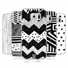 HEAD CASE DESIGNS BLACK AND WHITE DOODLE PATTERNS GEL CASE FOR SAMSUNG PHONES 1