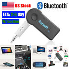 Bluetooth Receiver Wireless AUX Handsfree Adapter Car Kit Stereo Audio Music Mic