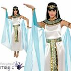 LADIES ADULT CLEOPATRA EGYPTIAN QUEEN GREEK GODDESS FANCY DRESS COSTUME OUTFIT