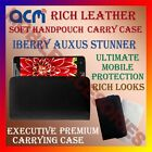 ACM-RICH LEATHER SOFT CASE for IBERRY AUXUS STUNNER MOBILE HANDPOUCH COVER NEW
