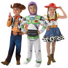 Childs Rubies New Toy Story Classic Woody Or Buzz Lightyear Fancy Dress Costumes