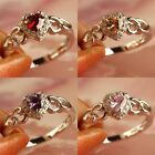 New Ruby Spinel Amethyst Multi Gems Silver Jewelry Ring Size 6 7 8 9 10 11 12 13