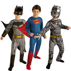 Rubies Dawn Of Justice Childs Classic Superman Or Armoured Batman Kids Costume