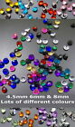 4.5mm 6mm 8mm POINTED RHINESTONES 100 250 500 or 1000 WEDDING TABLE DECORATIONS