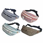 Canvas Zip Waist Fanny Pack Travel Sport Bag Hip Bum Belt Wallet Purse Pouch New