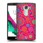 HEAD CASE DESIGNS PSYCHEDELIC PAISLEY HARD BACK CASE FOR LG G4